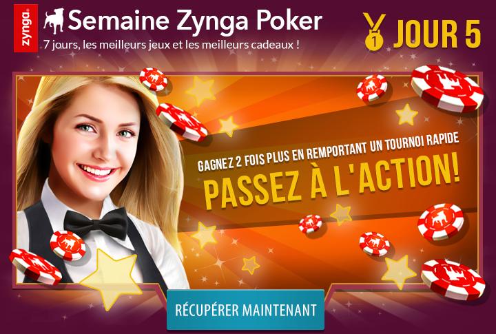 Et voici la semaine Zynga Poker