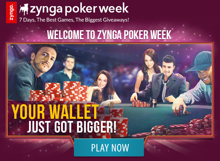 Welcome to Zynga Poker Week